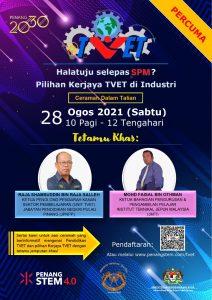 Halatuju selepas SPM: Pilihan Kerjaya TVET di Industri