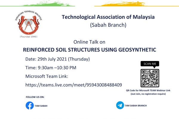 REINFORCED SOIL STRUCTURES USING GEOSYNTHETIC